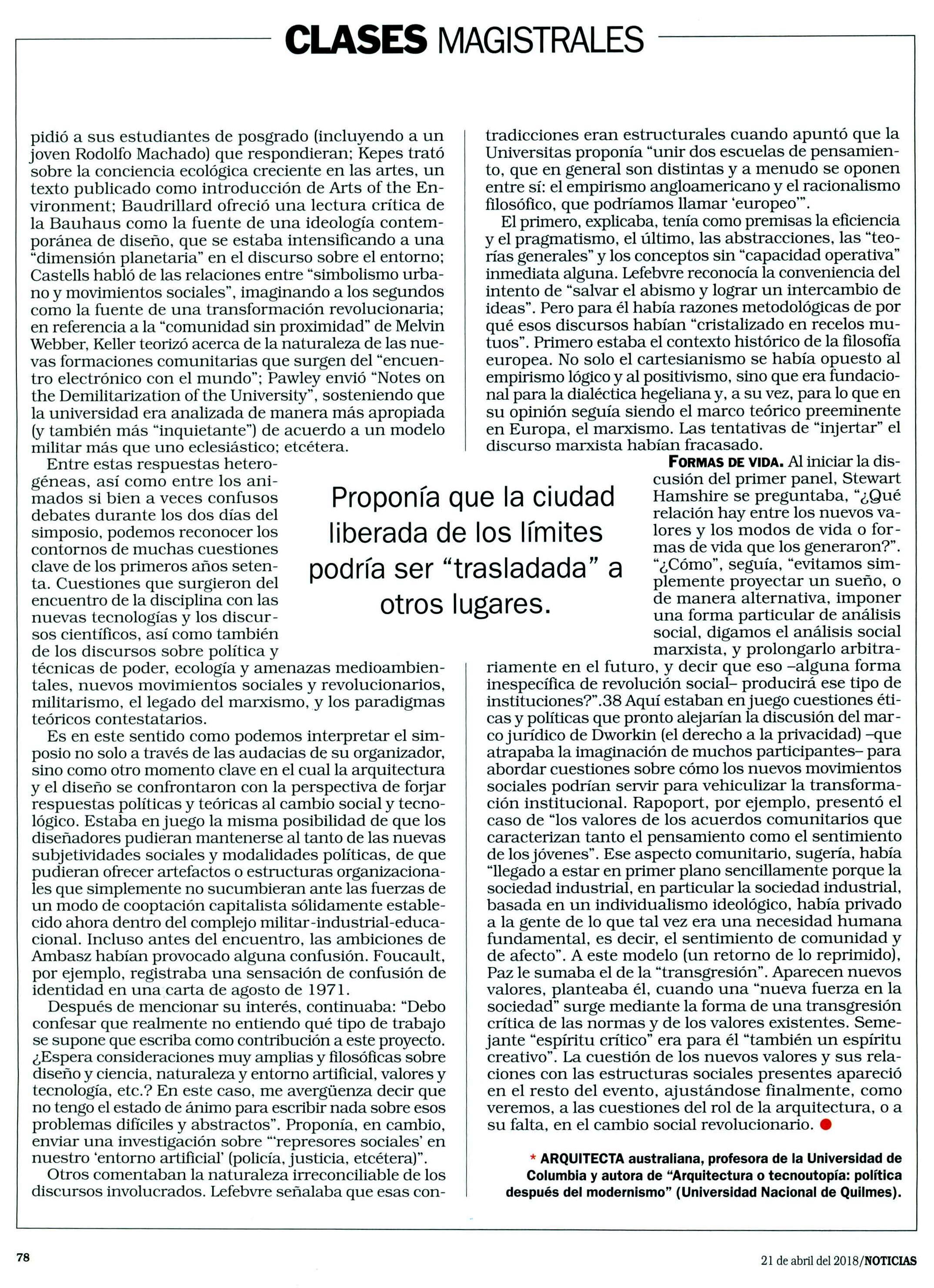 NOTICIAS, 21 DE ABR.6