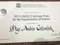 Premio UNESCO - Kalinga de Divulgación Científica