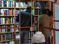 De visita en la librería Nota al pie