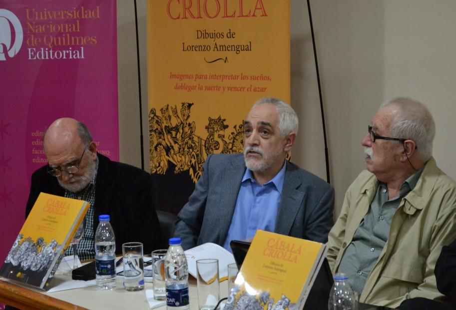 Yuyo Noé, Eduardo Stupía y Lorenzo Amengual
