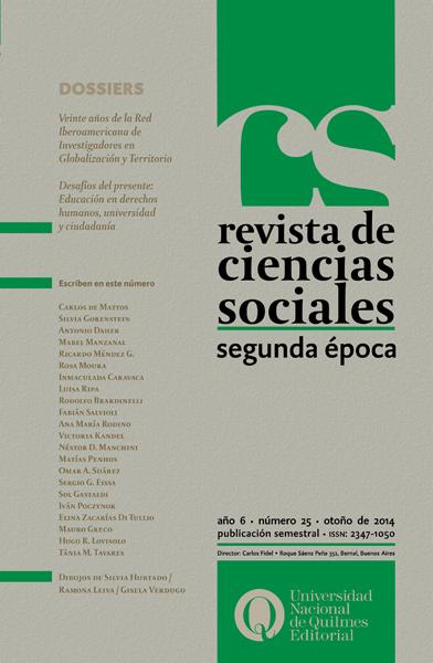 Revista de Ciencias Sociales Nº 25