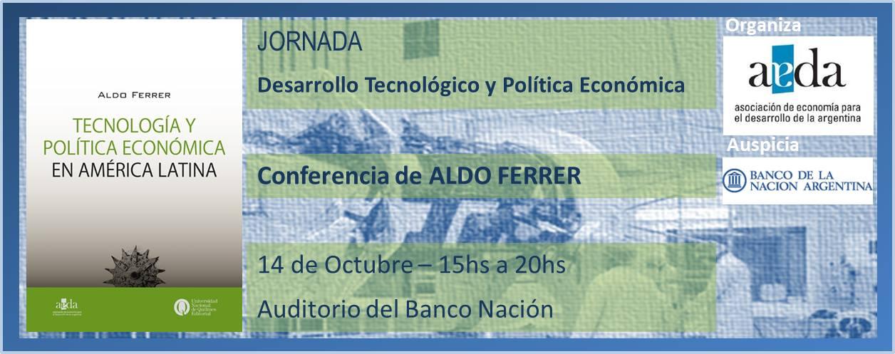 Presentación de Tecnología y política económica en América Latina
