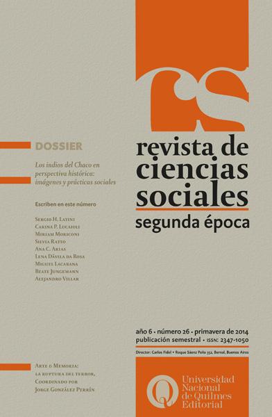 Revista de ciencias sociales 26