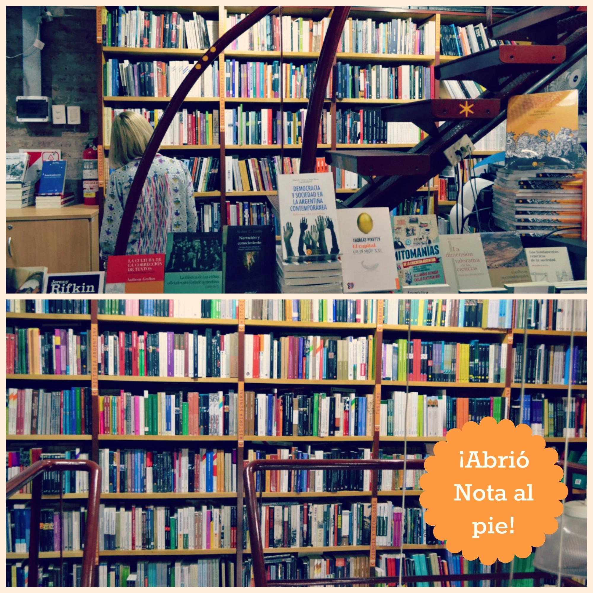 Libreria Nota al pie