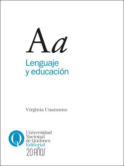 Lenguaje y educación, de Virginia Unamuno