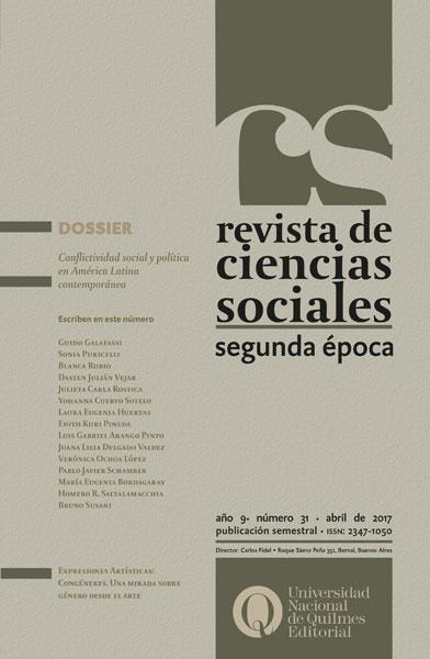 Revista de Ciencias sociales n° 31